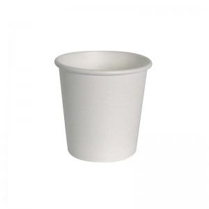 4oz White Paper Espresso Cups
