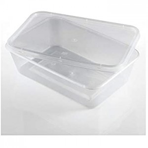 500ml plastic microwave container