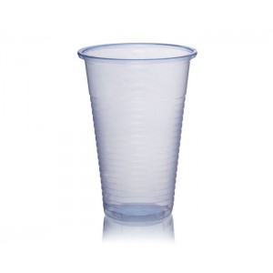 Blue 7oz Plastic Water Cups