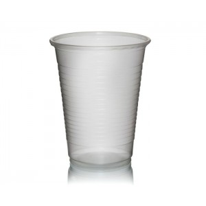 clear 7oz plastic cup