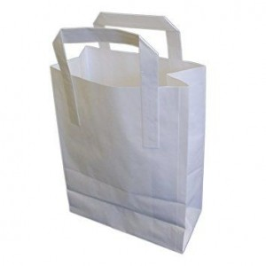 Small White SOS Bags