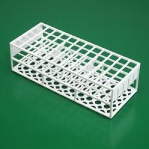 White Polystyrene Test Tube Rack