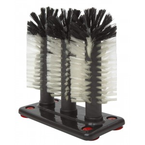 3 Brush Glass Washer