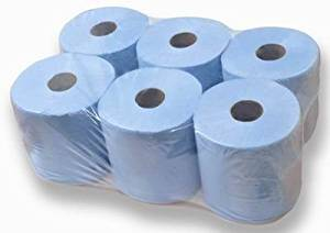 Centrefeed Blue Roll