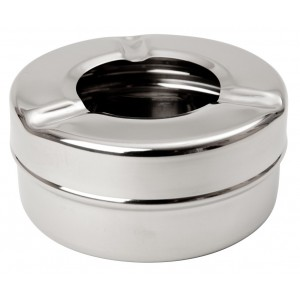 Stainless Steel Windproof Ashtray