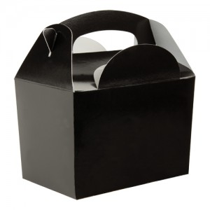 Black Party Meal Box