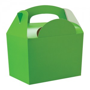 Lime Green Party Meal Box