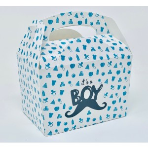 'It's A Boy' Baby Shower Party Meal Box